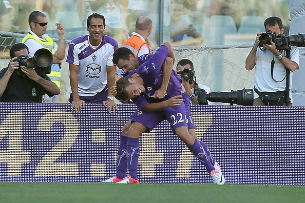 Fiorentina won in the Coppa Italia and they looked quite good doing it...