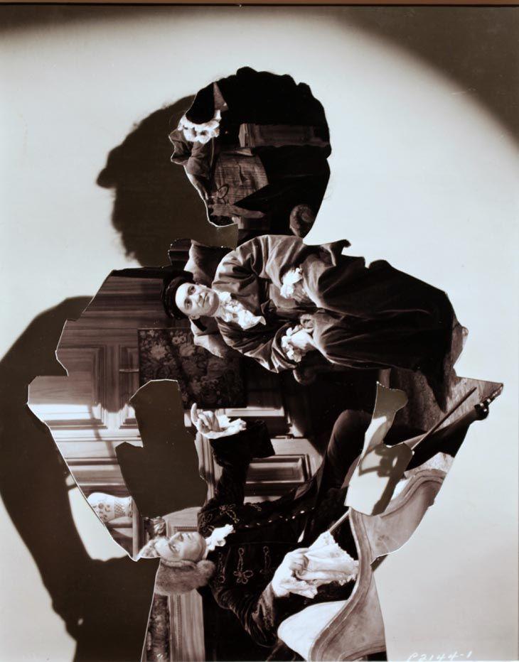 John Stezaker  Shadow IV  2006  Collage  55 x 40 x 5 cm