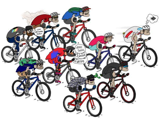 9 Tipe Pesepeda Gunung Dalam Komunitas