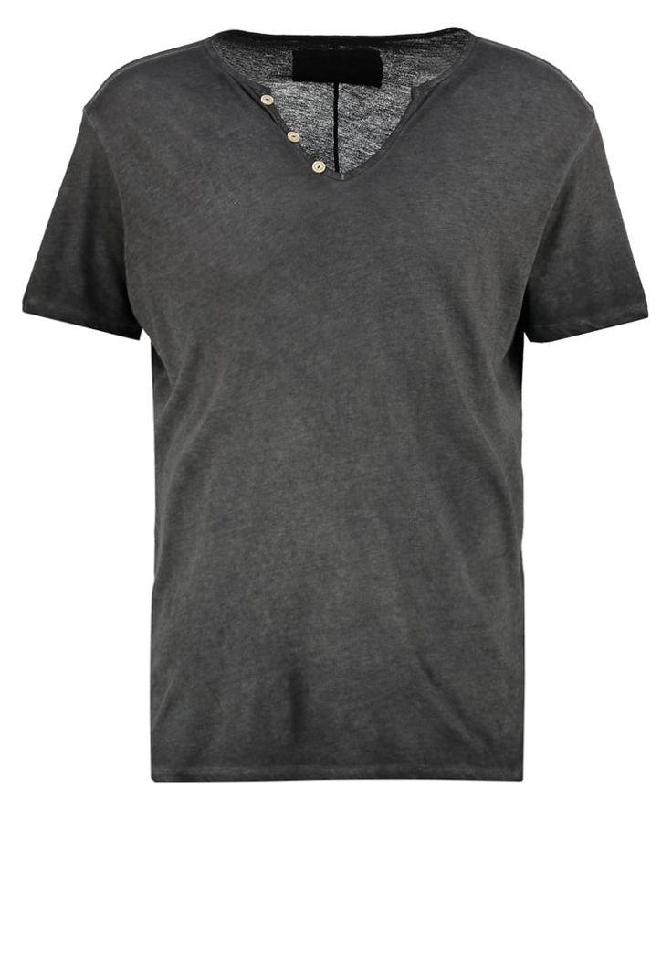True Religion TShirt basic jet black Premium bei Zalando.de | Material Oberstoff: 100% Baumwolle | Premium jetzt versandkostenfrei bei Zalando.de bestellen!