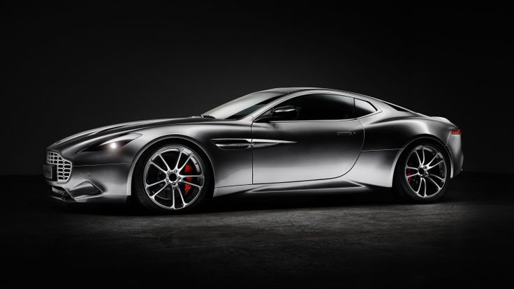 Henrik Fisker presents 'Thunderbolt,' a take on the Aston V12 Vanquish