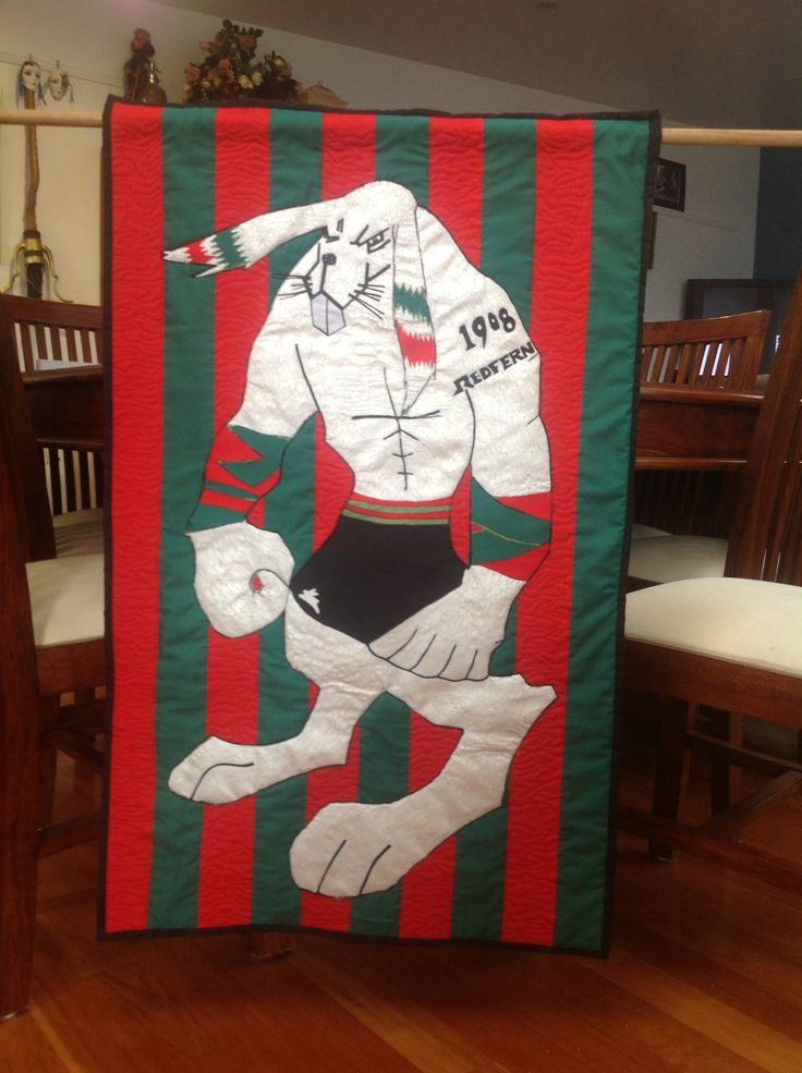 South Sydney Bunny quilted wall hanging