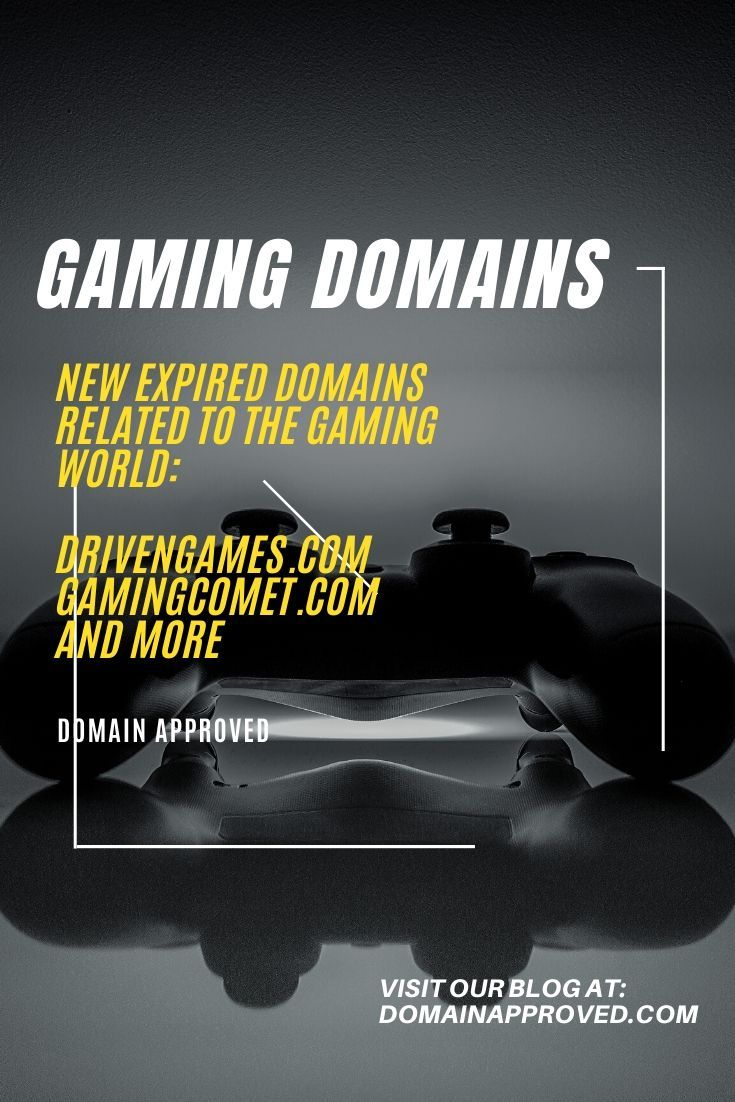 Expired Domain Names Gaming Category Blog Resources Blog Marketing Informative
