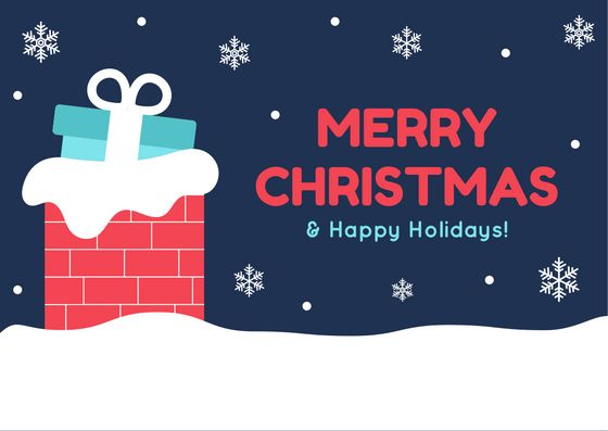 Merry Christmas & Happy Holidays!