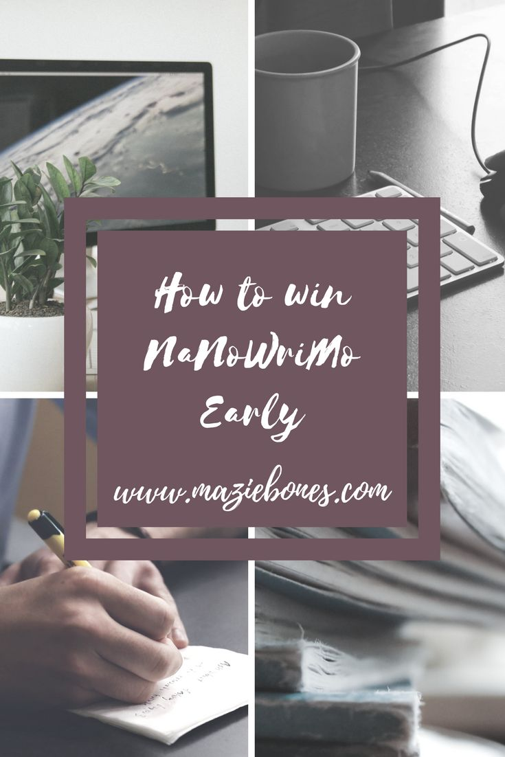 Originally I wrote this post for SprintShack! But with their permission, I'm bringing the article over here since it suits the occasion! Here is the original link: 6 Secrets To Winning NaNoWriMoEarly    For most people, dedicating a whole month to writing 50,000 words can sound a bit shocking, and that number alone …