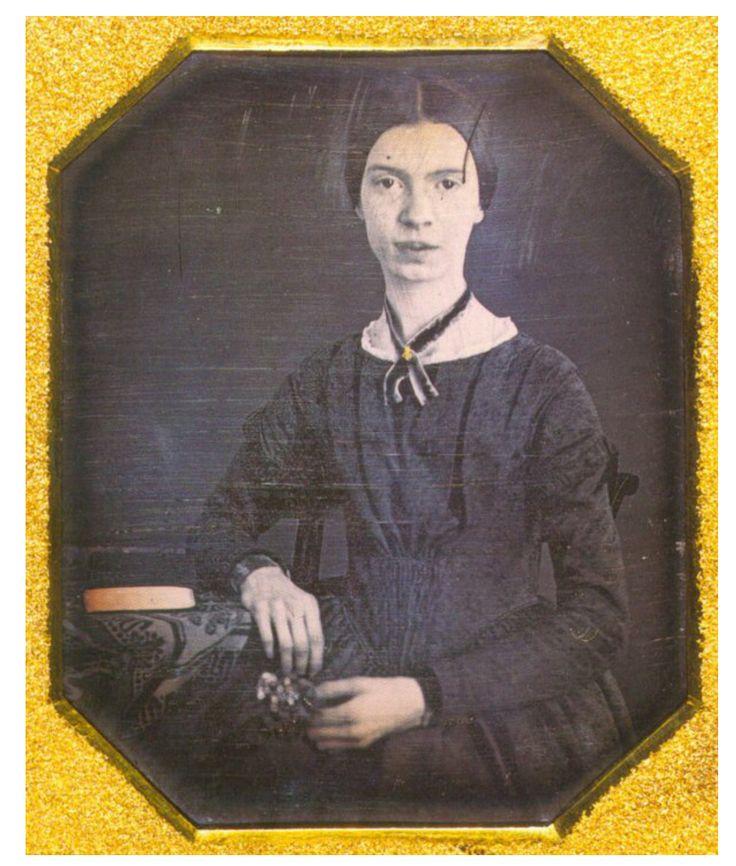 Famous American white girl Emily Dickinson.