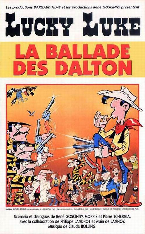 Lucky Luke La Ballad Des Dalton