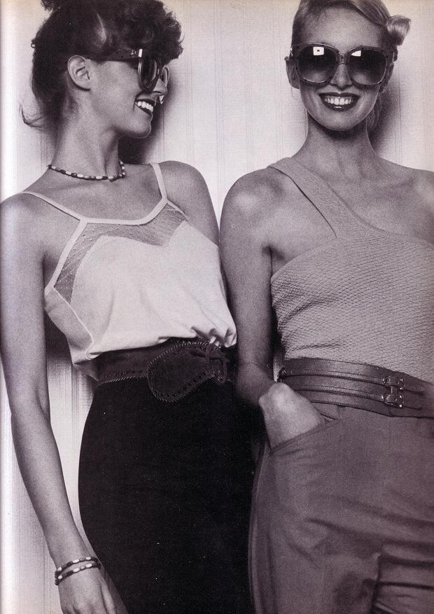 Fashion photography by Patrick Bertrand, 1970s.