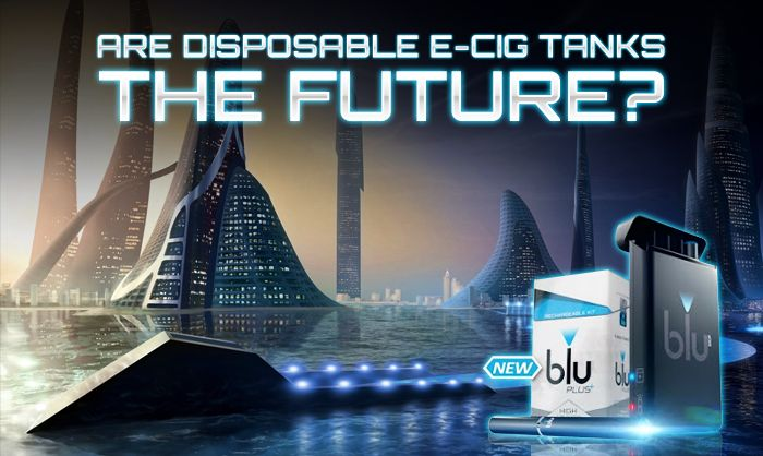 Disposable ecig tanks could be the single product that evolves in a post-regulation evapor industry.