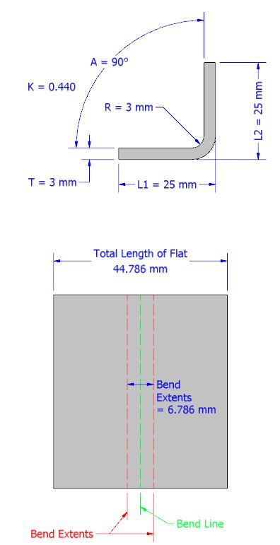 From the Trenches with Autodesk Inventor: Understanding Bend Allowance and Bend Dedcution in Inventor