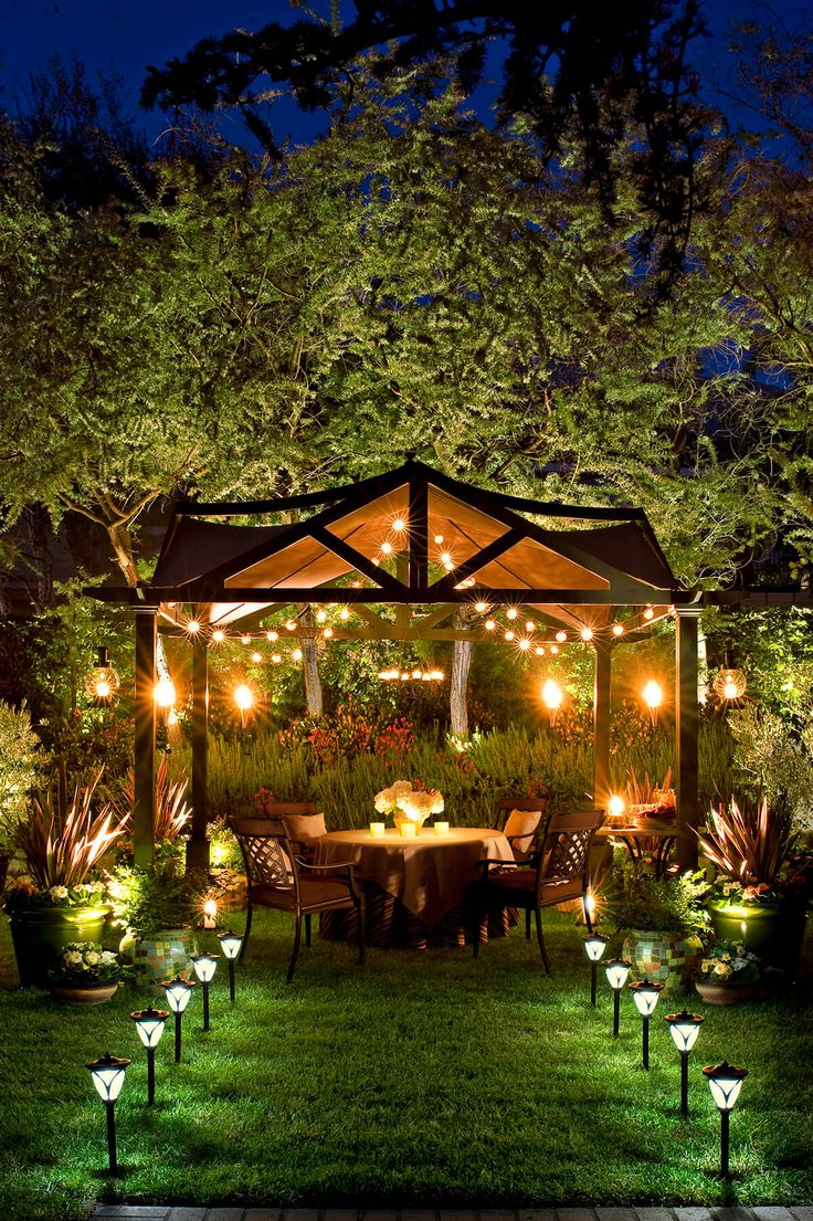 25 best ideas about backyard lighting on pinterest patio lighting outdoor patio lighting and - How to use lights to decorate your patio ...