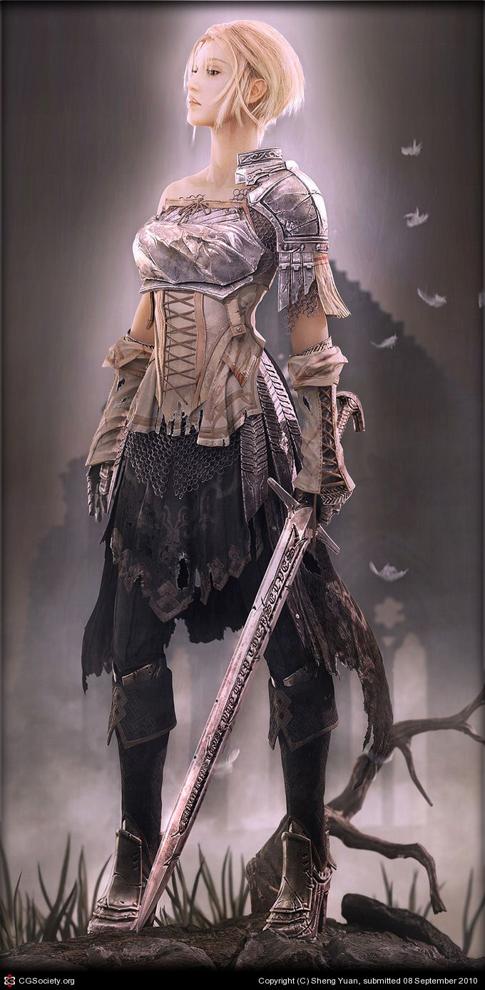 : Lady Knights, Inspiration, 3D Character, Halloween Costumes, Fantasy Art, Longer Hair, Character Design, Female Warriors, Jeanne Darc