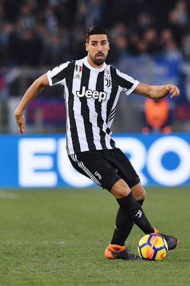 Foto Sami Khedira Lazio Juventus 0 1 Serie A 2017 2018 Juventus Foto Rare