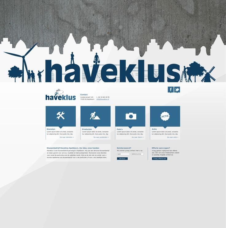 Website + banner