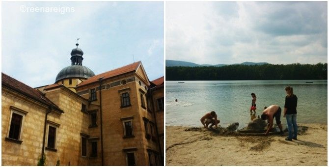 Side trip to the castle and a beautiful lake
