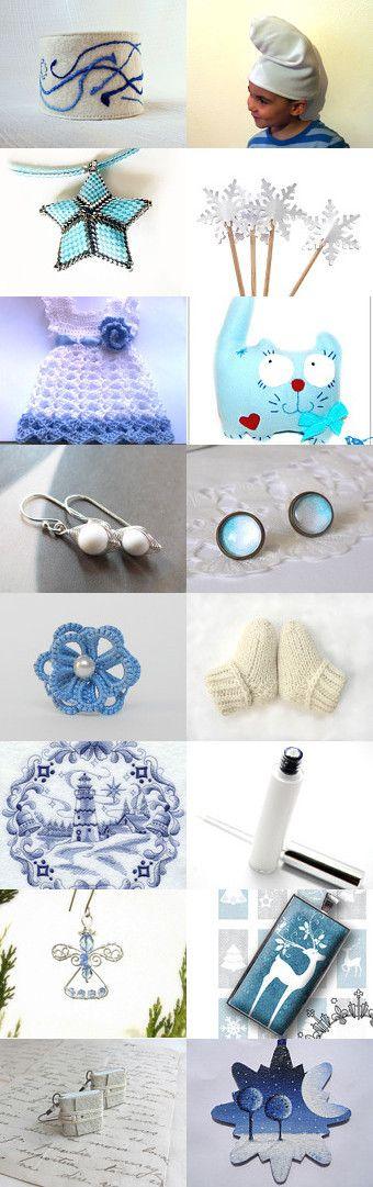 Winter wonders by Melinda on Etsy--Pinned with TreasuryPin.com