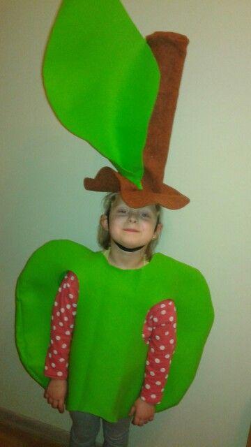 Apple#jabułko#strój#kids#karlawal#owoc#fruit
