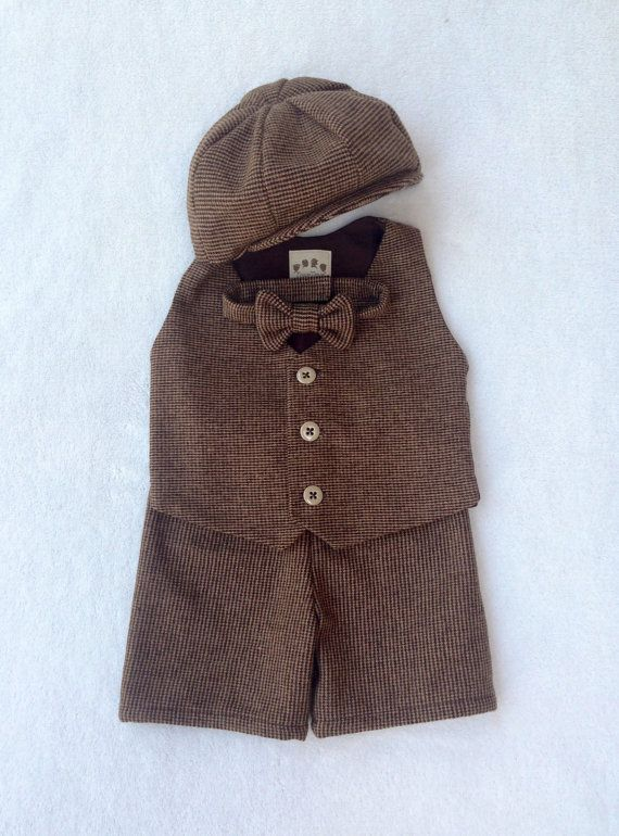 Hey, I found this really awesome Etsy listing at https://www.etsy.com/listing/129123242/tweed-shorts-suit-ring-bearer-outfit