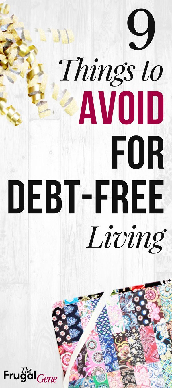 On baby step #2? Want to live debt free? Mind these money tips and avoid all 9 kinds of problems so you can live debt free. These debts are hard to get rid of and can keep you in debt longer. That's why I call them 'nails in the coffin.' #personalfinance #debtfree