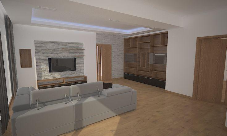 Interiérový architekt a dizajnér Opavský, realizácie interiérov Interiérový dizajn bytu pre mladú rodinu, Bratislava