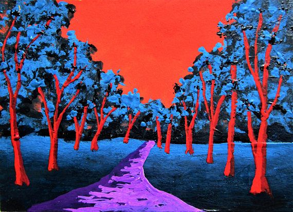 Brightscapes: The Way To Beauty  Twilight Woods #278 https://www.etsy.com/listing/212845645/twilight-woods-278-artist-trading-cards  My work on view at:  Loving Rochester Interview https://www.youtube.com/watch?v=HoKU60lBELc&feature=share  @Bausch Rochester Optics Center http://mikekraus.blogspot.com/2018/01/bausch-lomb-rotating-art-program.html  @Whitman Works Company​ https://www.facebook.com/LovingRochester/videos/163879897591357/