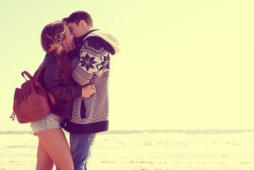 Love #kiss #couple #beautiful