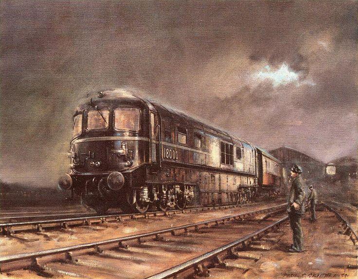 Locomotora 18000, con turbina de gas, de Great Western Railways (GWR), GB