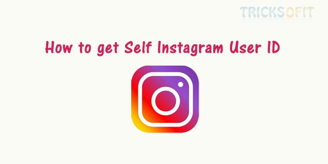 Previously I have explained how to Get Instagram Access Token Using Client-Side Authentication. Now I will show you how to get self Instagram user ID