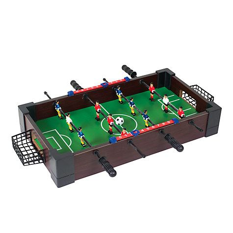 John Lewis Mini One Foot Table Football Game - £10