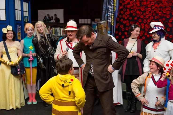 Albury Libraries' Write Around the Murray Festival: Cosplay event with Rob Lloyd (aka Dr Who)