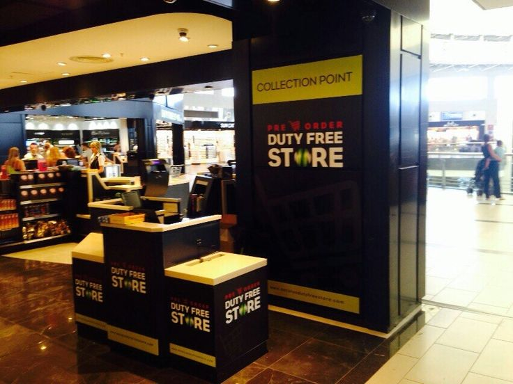 Your pre-order collection point at Antalya International Airport Terminal 2