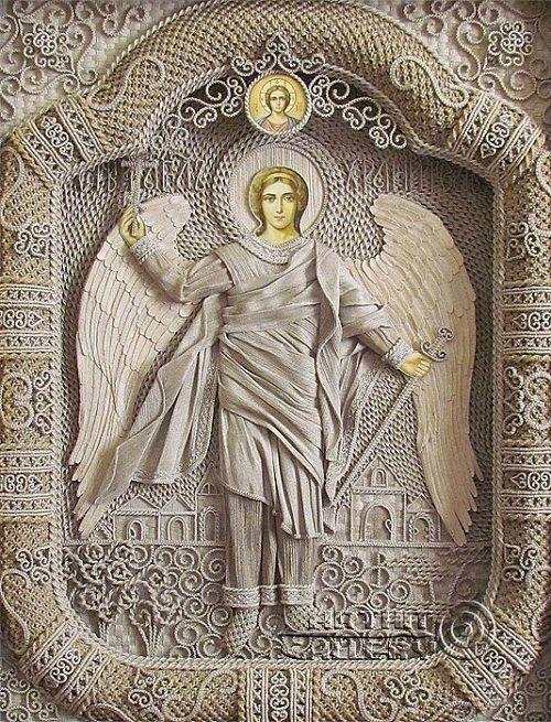 Guardian Angel by Vladimir Denshchikov