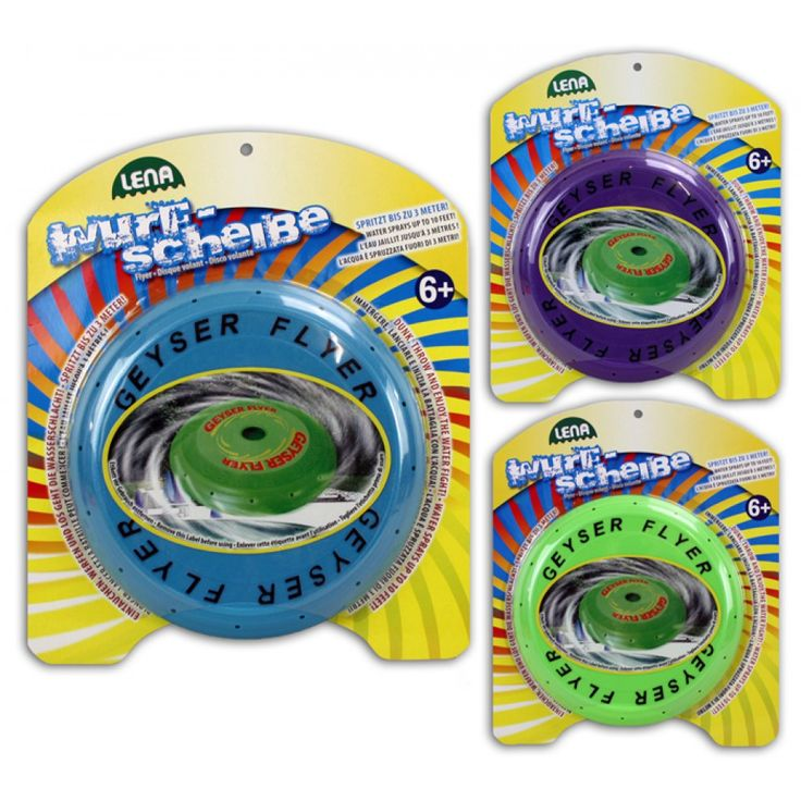 LENA water Frisbee 3 assorted Map ca 3 from wholesale and import