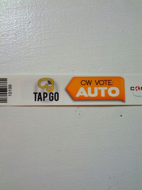 TAP GO at the #chiautoshow #CWC14
