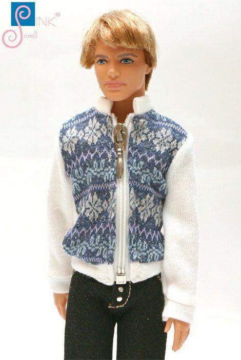 Ken clothes jacket: Stavan by Pinkscroll on Etsy