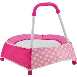 Buy Chad Valley Baby Trampoline Pink at Argos.co.uk - Your Online Shop for Trampolines and enclosures, Activity toys.
