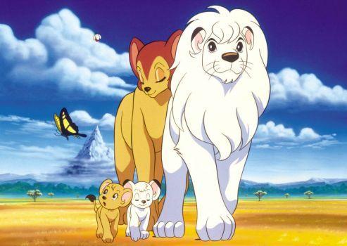 Kimba The White Lion (70 pieces)