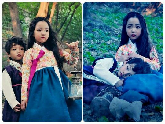 "#Fusion Children hanbok inspired by fairy tale ""Hansel and Gretel"" #Made by [Bogg Nabi]"