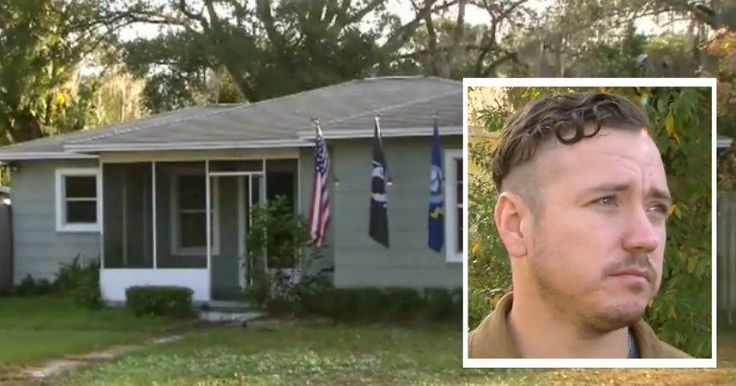 Veteran Sick After Getting Home & Seeing What Anti-Trump Thugs Did To House