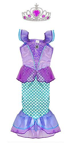 Ariel Costume for Kids Little Mermaid Princess Dress Up H... https://www.amazon.com/dp/B01ILVB39Q/ref=cm_sw_r_pi_awdb_x_VJtMybWVTJVCH