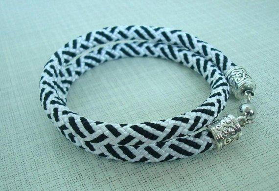 Braided bracelet Bright bracelet Rope bracelet Kumihimo