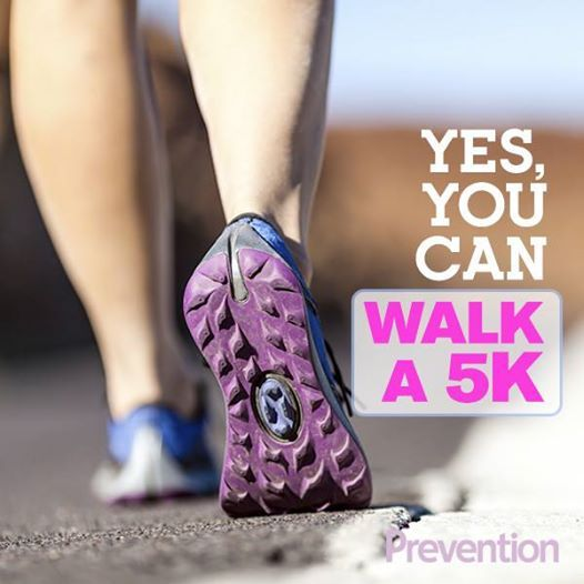 Your 5K Countdown: All Walk Program - Go from the couch to a 5K in 6 weeks! Try our beginner-friendly training program to help you slim down and get race-ready to complete your first 5K