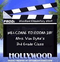 Hollywood Theme - Lots of great ideas for a classroom theme!