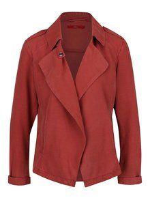 Obrázek Cihlová lehká dámská bunda s.Oliver