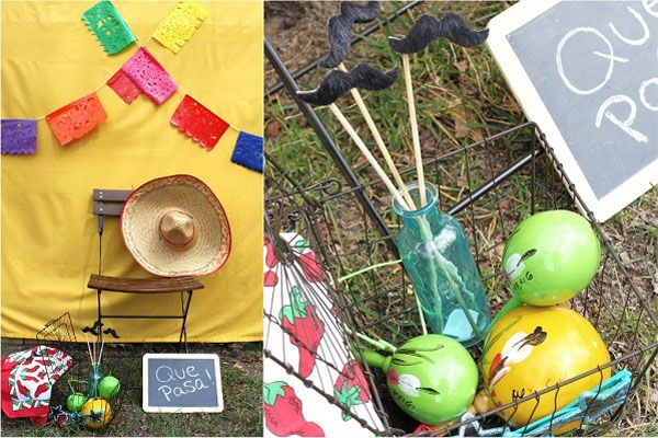 Mexican Fiesta Theme Party