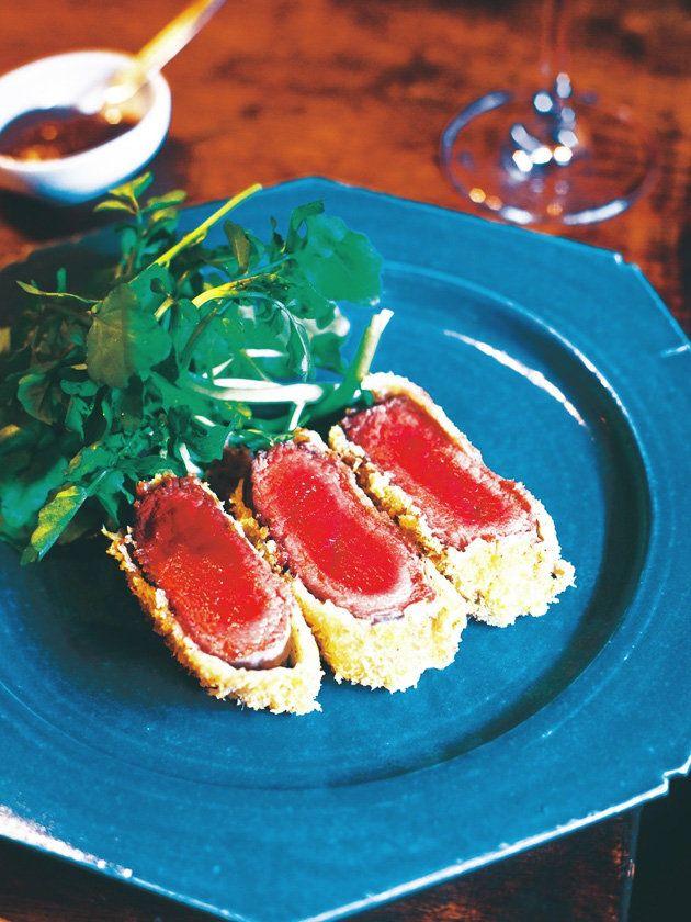 ジューシーな赤身の魅力炸裂! 『ELLE a table』はおしゃれで簡単なレシピが満載!