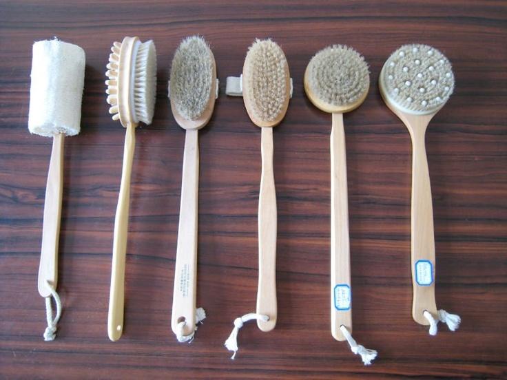 Sauna-brushes