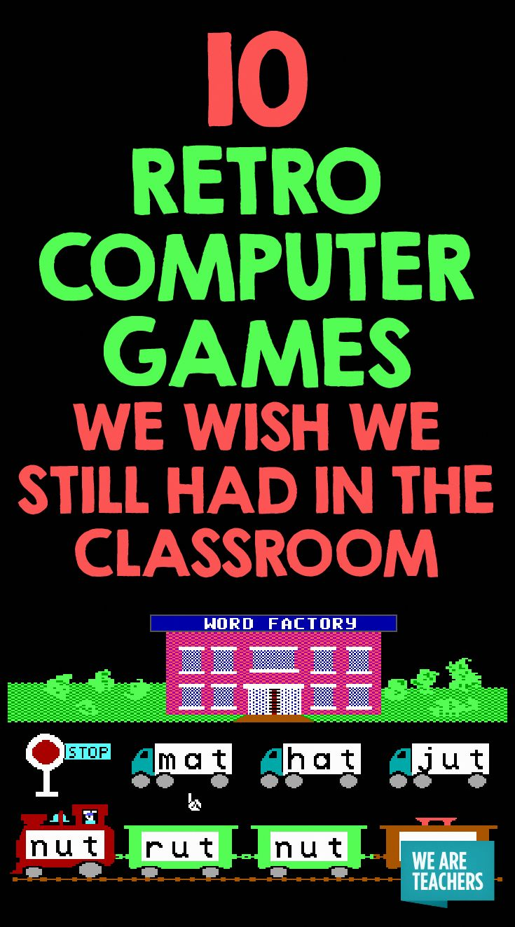 Retro Computer Games We Still Wish We Had in the Classroom