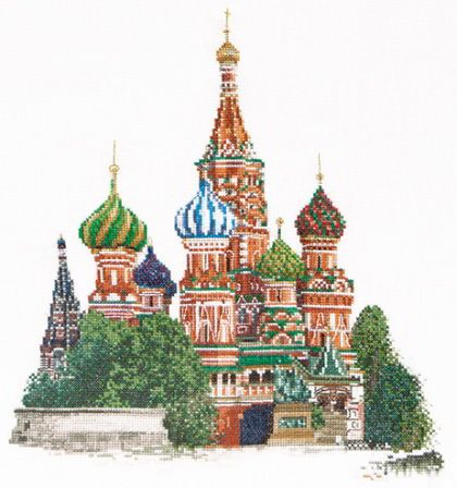 St. Basil's Cathedral Moscow - Aida