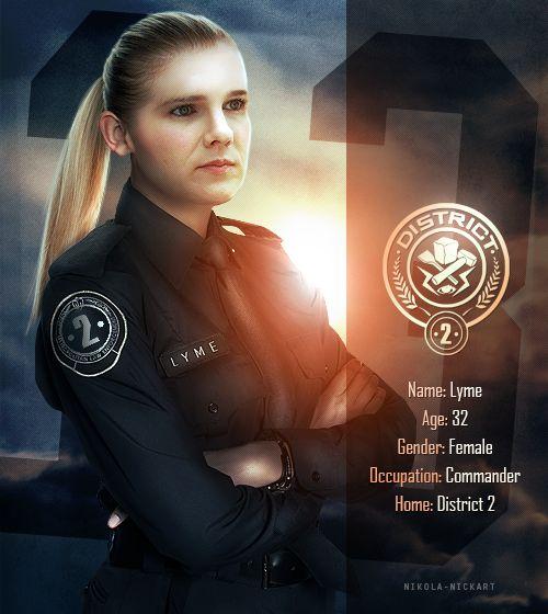 Commander Lyme   HUNGER GAMES FAN-MADE   Pinterest   Posts ...